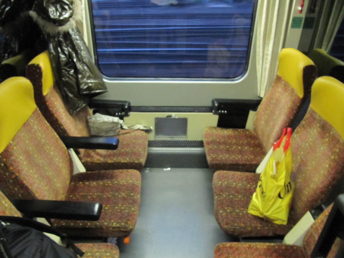compartimento tren budapest