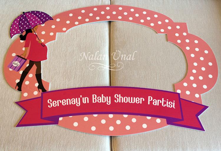 babyshower için forex fotoblok çerçeve
