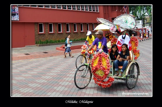 kota tua melaka, malacca, becak, tricycle, malaysia, a famosa, Gereja St. Francis Xavier, Gereja Kristen Melaka, Galeri Seni Melaka, Menara Jam Melaka, Museum Belia, Jongker