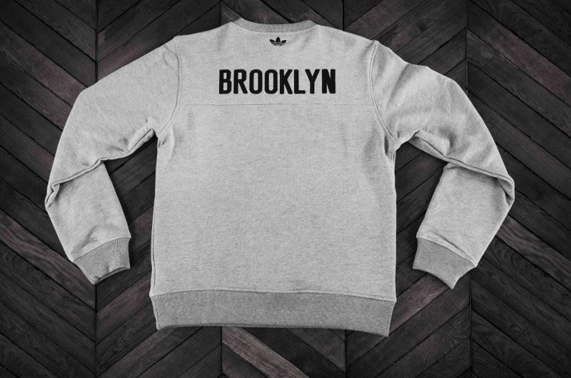 435c35086cc4 ... adidas Originals x Brooklyn Nets team pack featuring a wool jacket