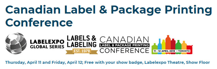 Labels India: Canadian Label and Package Printing Conference 2019