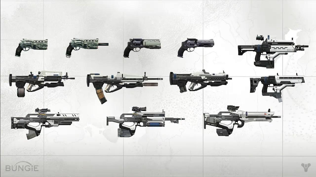 In Memoriam: 10 Best Legendary Weapons in Year One Destiny ...  Legendary