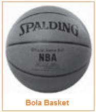Ukuran dan Gambar Bola Basket