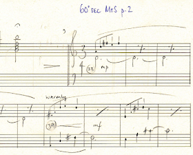 An extract from Rachel Portman's original score for the short version of the M&S advert
