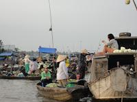 Mercado flotante Can Tho - Vietnam