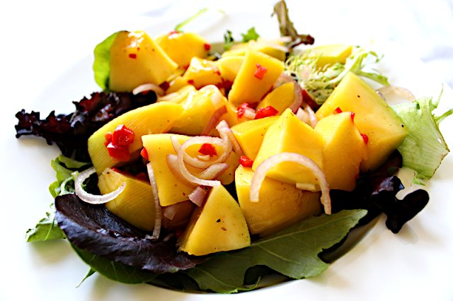 Mango Lime Chili Salad