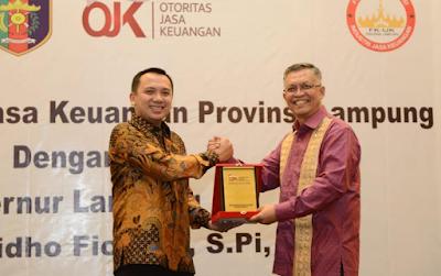 Forum Komunikasi Industri Jasa Keuangan Apresiasi Kinerja Gubernur M.Ridho