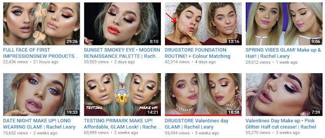 Rachel Leary YouTuber UK