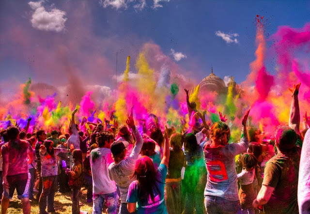 Holi Festivals in India