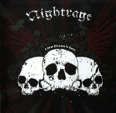 Nightrage - New Disease Is Born (2007) Album Artwork