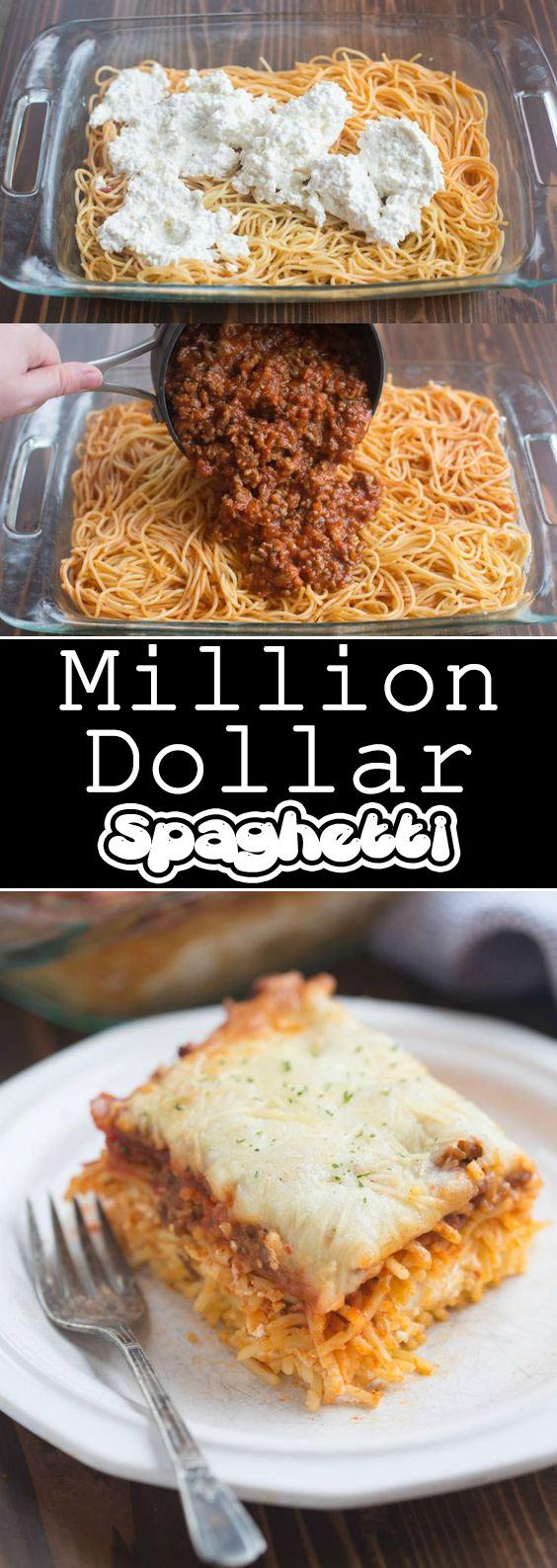 Million Dollar Spaghetti Recipe - Cook All Recipe
