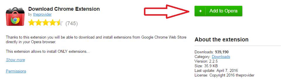 Ekstensi yaitu fitur pemanis yang sanggup diinstal untuk lebih  [TIPS] Instal Ekstensi Google Chrome di Opera Browser