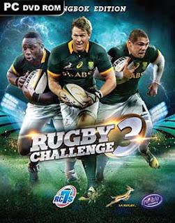 غلاف لعبة  Rugby الدوري الأصعب 3