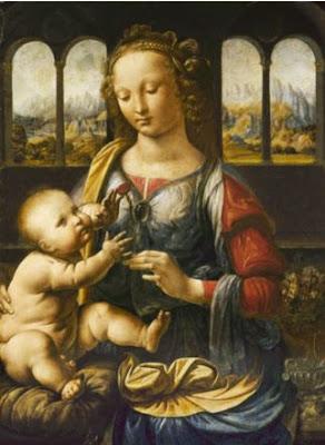 Madonne avec l'oeillet - Léonard de Vinci