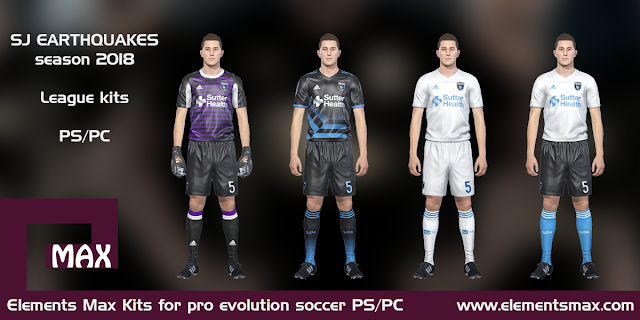 SJ Earthquakes PES kits