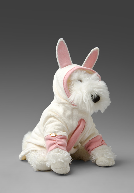 The Terrier and Lobster: Juicy Couture Dog Bunny Costume