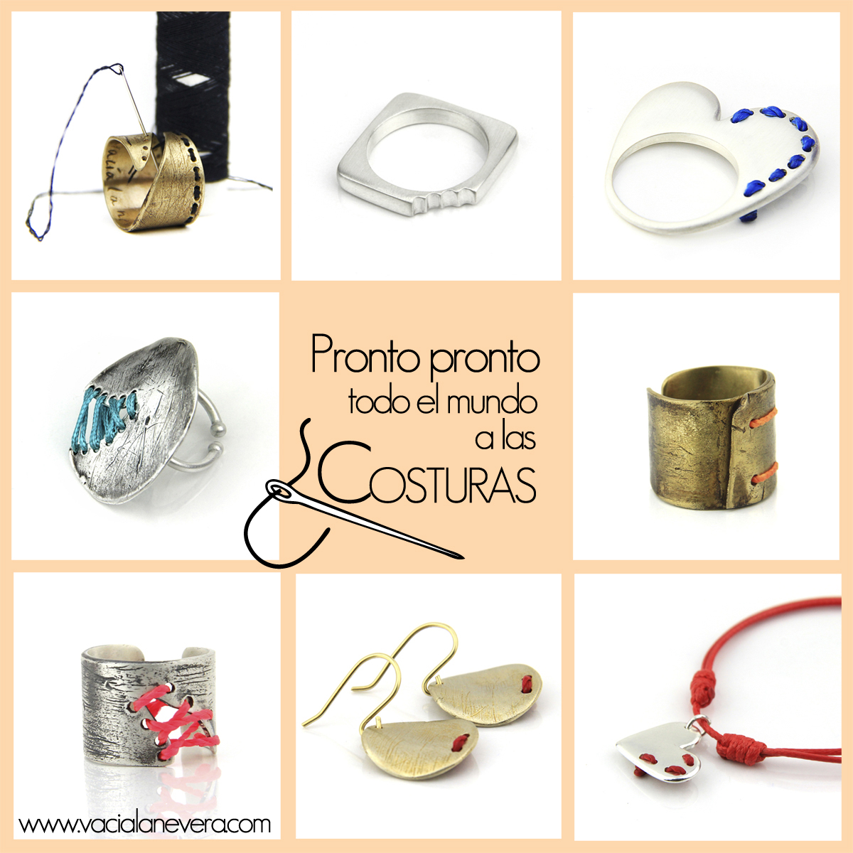 Colección de Joyas Las Costuras