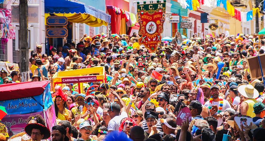 Pacote para o Carnaval 2019 em Recife e Olinda