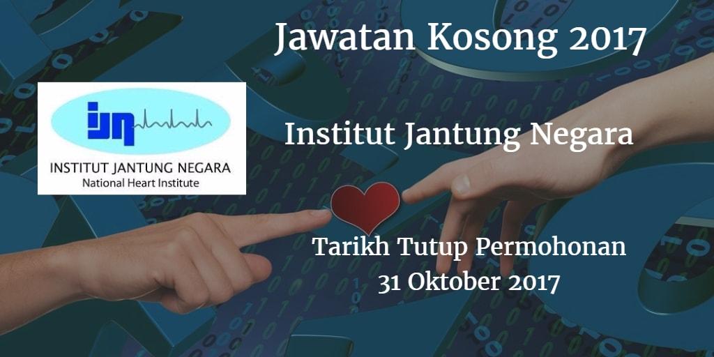 Jawatan Kosong IJN 31 Oktober 2017