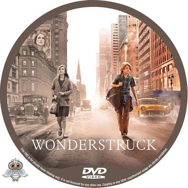 Wonderstruck DVD Label