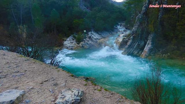 Arroyo de las Truchas, río Borosa, Pontones, Sierra de Cazorla, Jaén, Andalucía