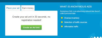Cara Mendapatkan Bitcoin Dengan Pasang Iklan Anonimous Ads (A-ads.com) Di Blog