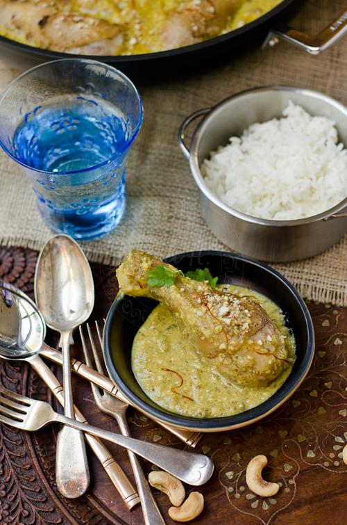 Kashmiri Cashew Chicken