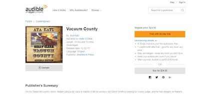 Audible Vacuum County is Out