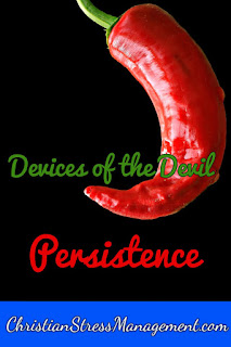 We Are Not Ignorant of the Devices of the Devil Persistence