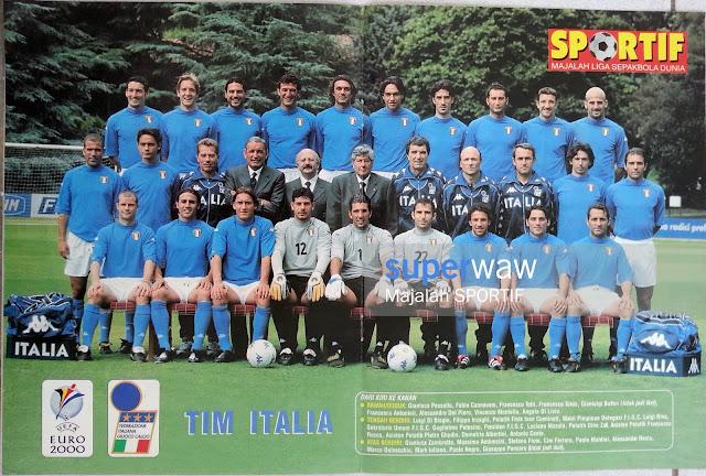 POSTER FULL TEAM ITALIA 2000