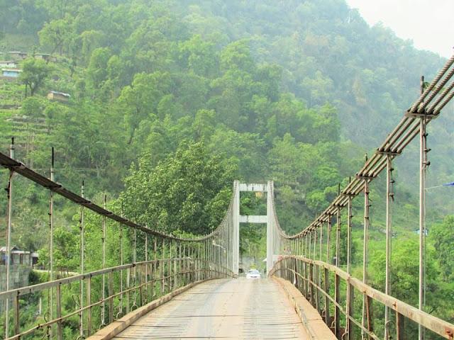Tashiding Bridge Legship Sikkim