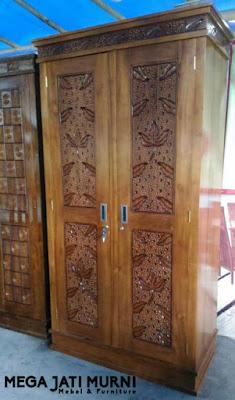 lemari, Almari jati, almari pakaian, lemari baju, lemari minimalis, almari sudut, asli kayu jati jepara, dijamin murah,