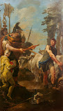 Dictatorship Offered to Cincinnatus by Giovanni Battista Tiepolo - History Paintings from Hermitage Museum