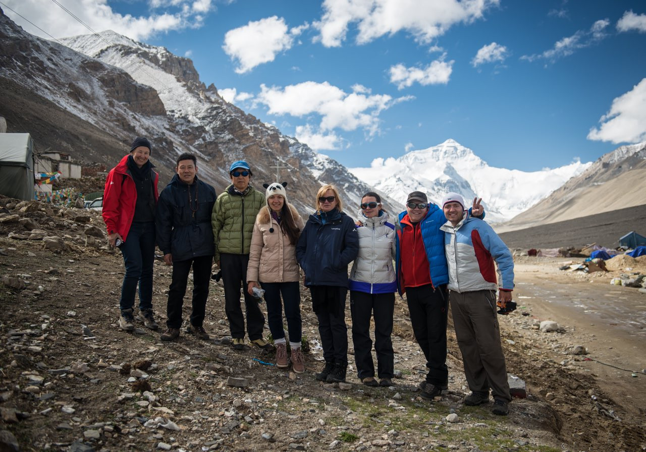 enjoy an Everest base camp tour with friends from all over the world.