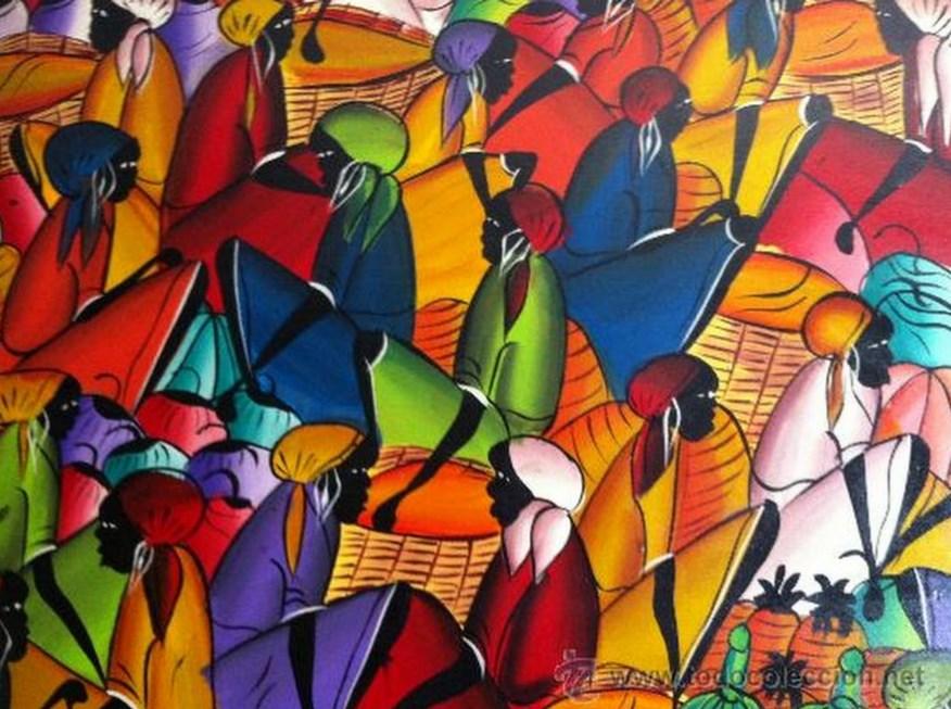 Cuadros modernos cuadros bonitos negras africanas - Pintar un cuadro moderno ...