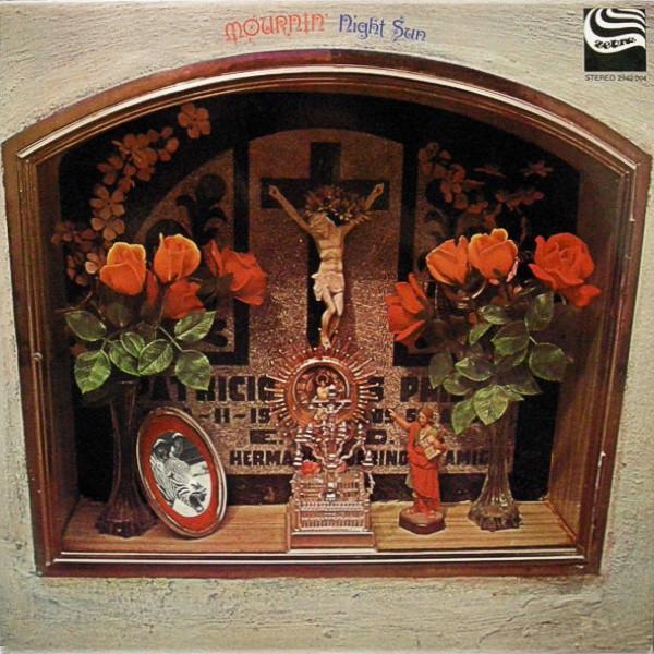 Portada de disco Night Sun - Mournin'. 1972.