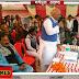 मधेपुरा: आपदा मंत्री ने बांटे स्कूली बच्चों के बीच जूते