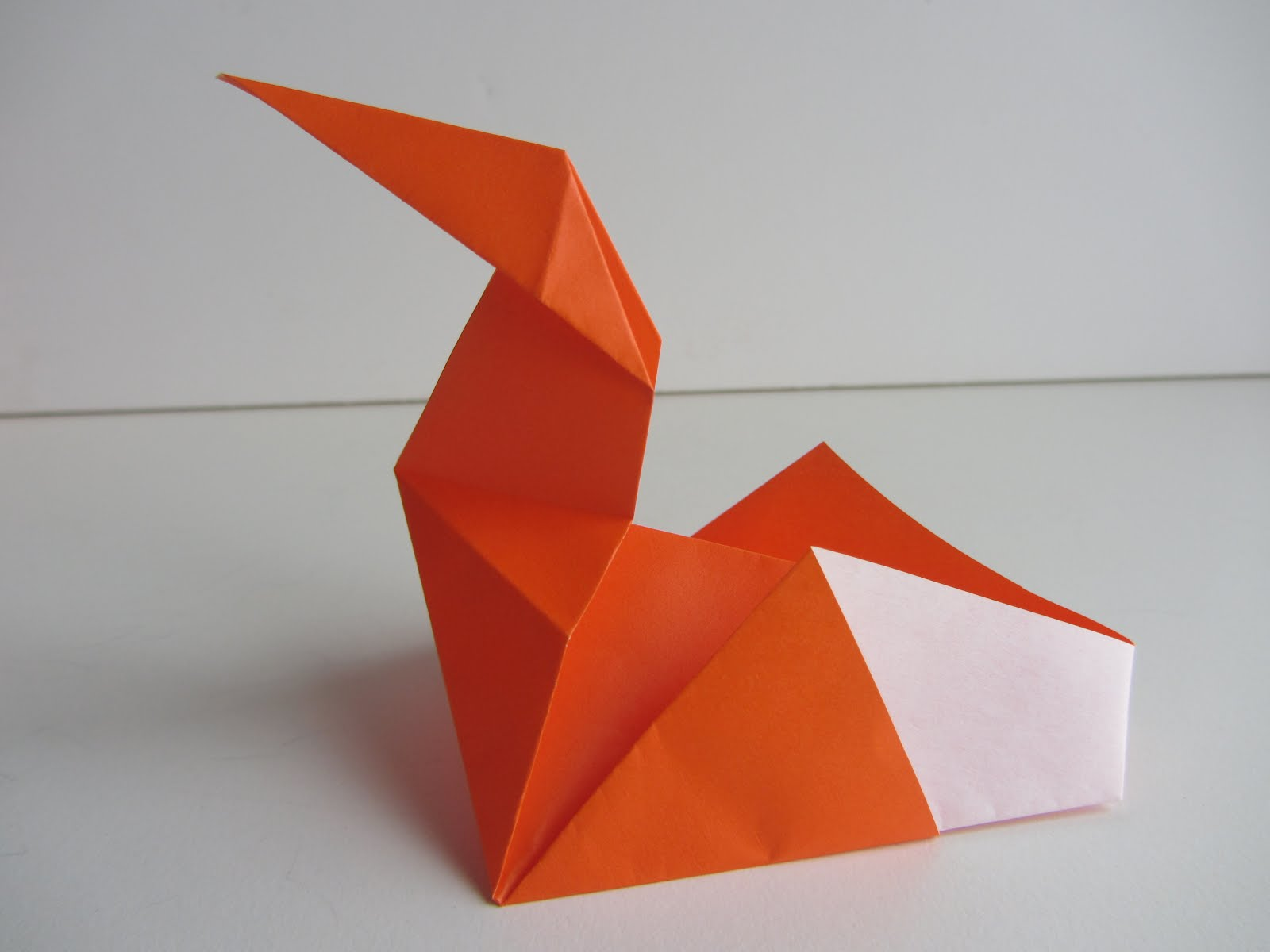 Origami-Instructions.com: Origami Pecking Chicken - photo#15
