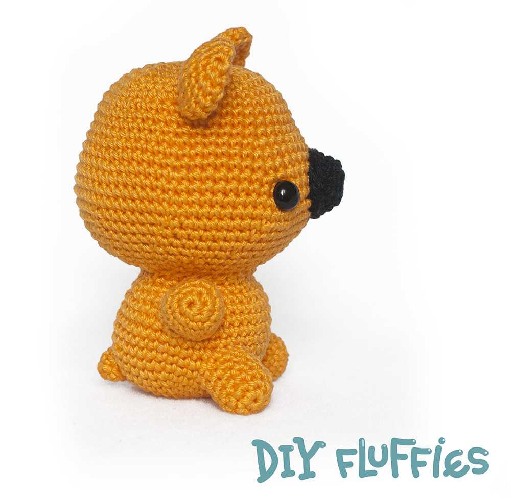Toy Patterns by DIY Fluffies : Free bear crochet pattern