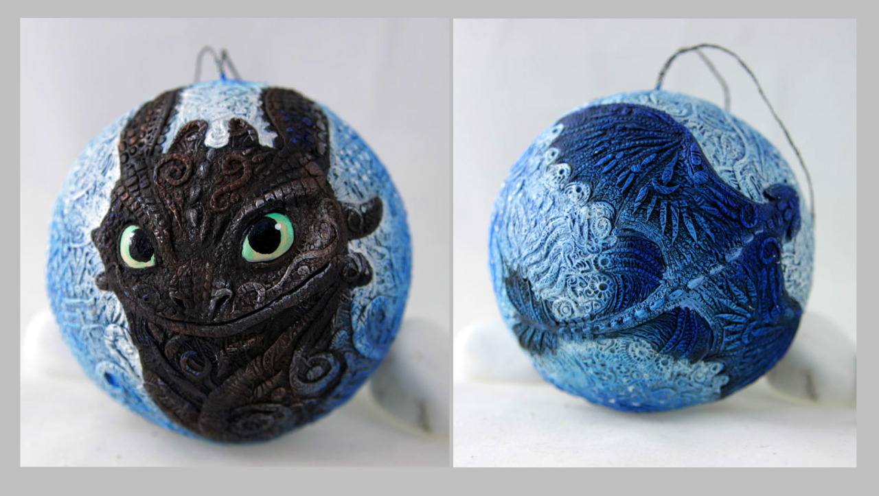 Toothless Christmas Ornaments