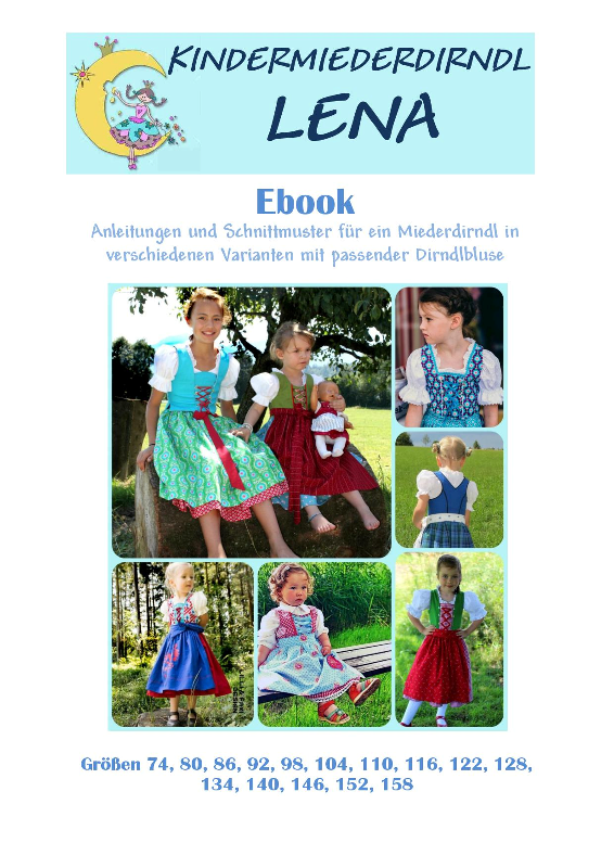 Ebook Kindermiederdirndl LENA