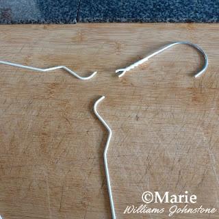 Chopping up a hanger