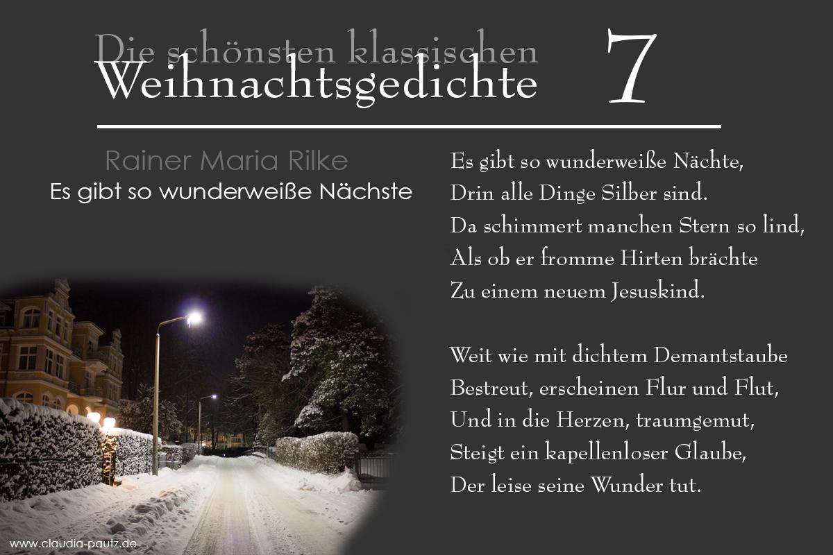 Rainer Maria Rilke Weihnachtsgedichte.Mein Usedom Rainer Maria Rilke Es Gibt So Wunderweiße Nächte