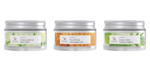 Cremas Esenciales Armonía Cosmética Natural - Depurativa - Nutritiva - Aloe Vera