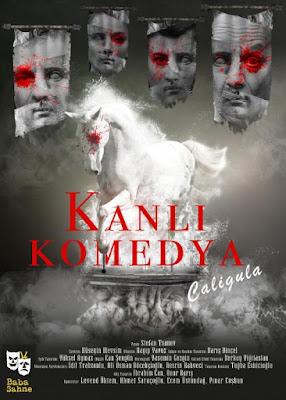 Kanlı Komedya Caligula afişi