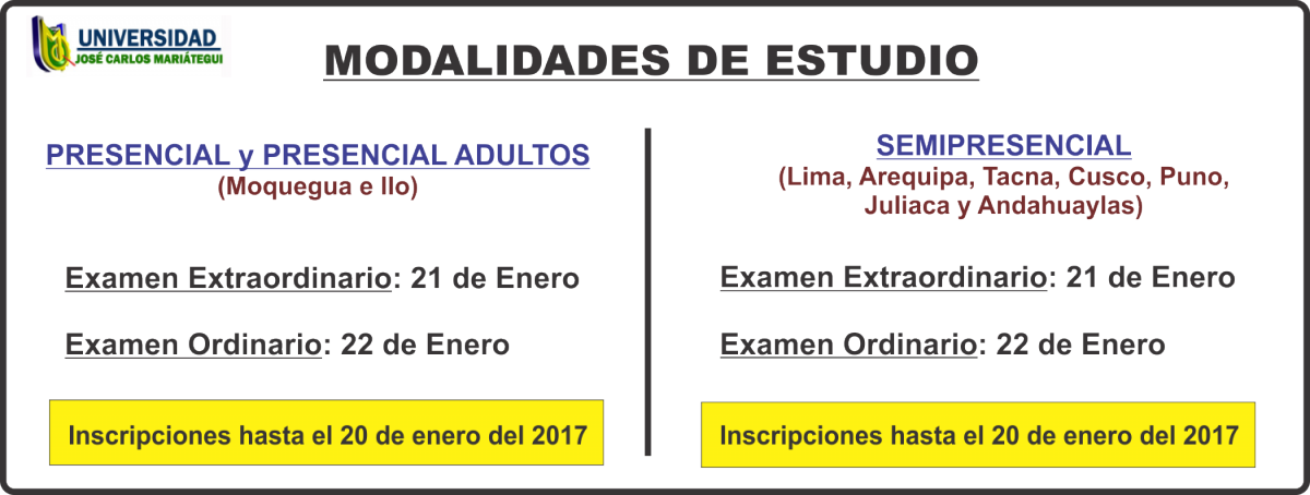 Resultados examen de admisi n ujcm 21 y 22 de enero 2016 for Requisitos para estudiar arquitectura