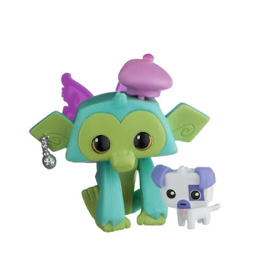 TOYS : JUGUETES - ANIMAL JAM  Lucky Monkey & Pet Puppy  Figura - Muñeco Mono y mascota | 2016  National Geographic | A partir de 5 años  Comprar en Amazon España & buy Amazon USA