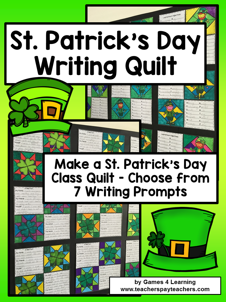 st patricks day writing prompts If you are looking for st patrick's day writing prompts for grades k-5, you've come  to the right place with these free printables you'll be ready.