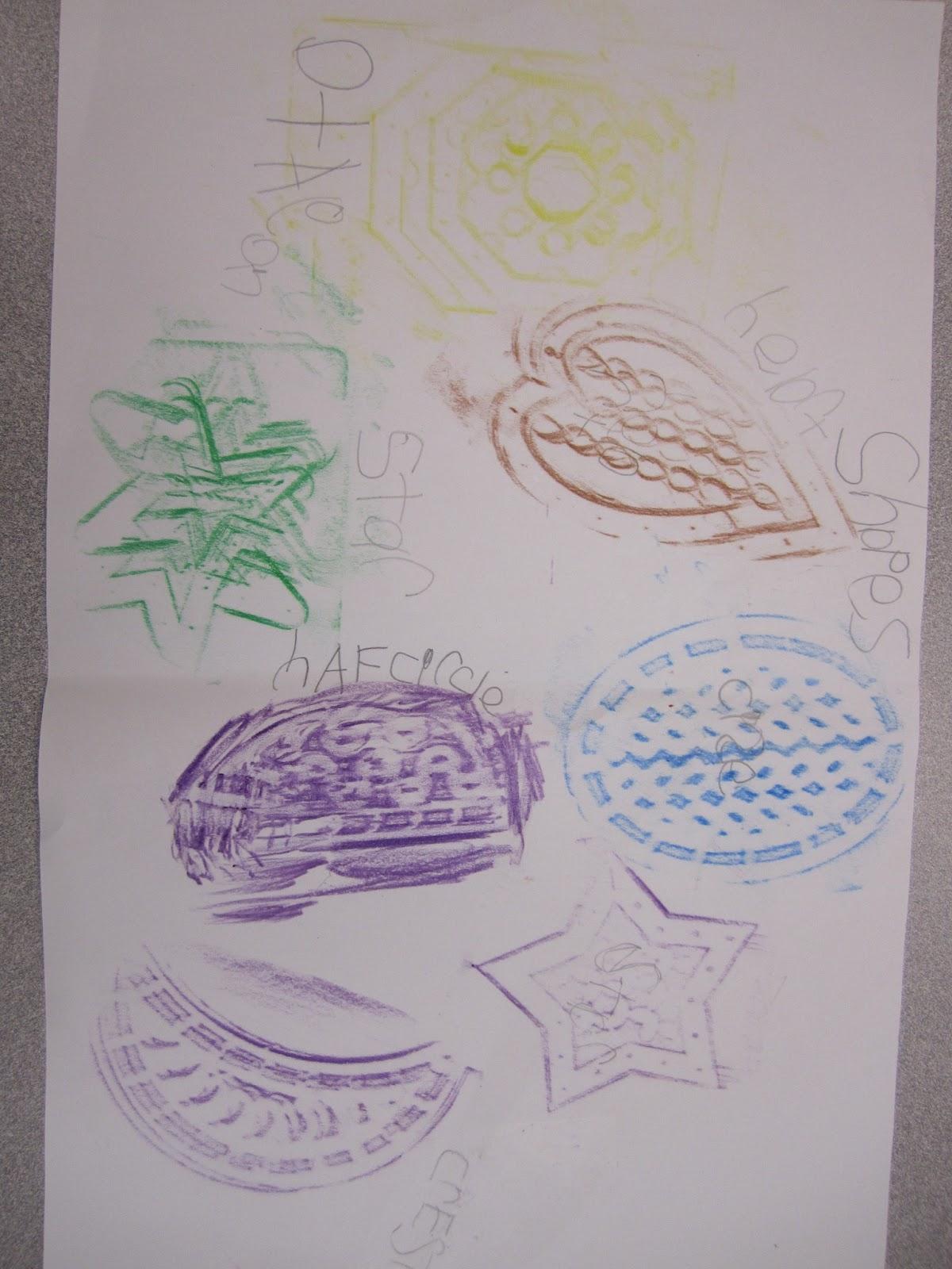 Mrs Parisi S Kindergarten Class Shapes And Mathematical