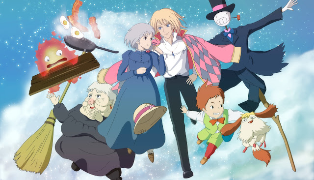 personagens-anime-Howl's-Moving-Castle